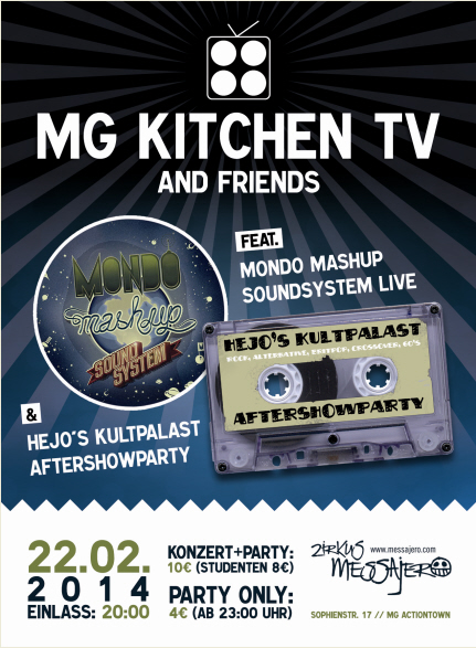 MG Kitchen TV and friends